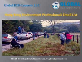 Hong Kong Environment Professionals Email List.pptx