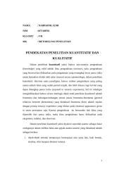pendekatan penelitian kualitatif dan kuantitatif.doc