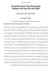10 solawat yang diriwayatkan daripada nabi ilyas dan nabi khidir.pdf