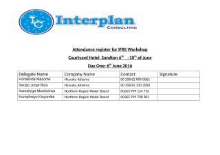 Attendance register for IFRS Johannesburg.docx