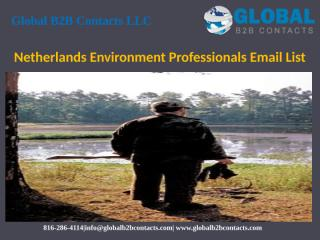 Netherlands Environment Professionals Email List.pptx