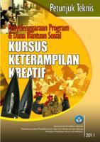 juknis penyelenggaraan program & bantuan sosial kursus keterampilan kreatif.pdf